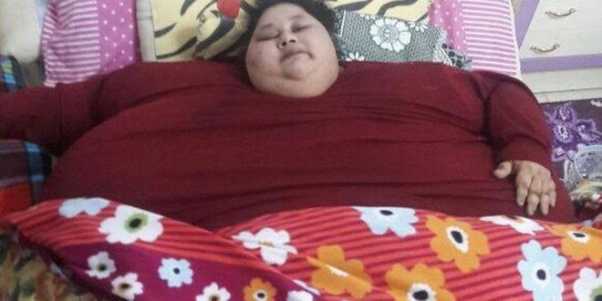 cea mai grea femeie din scăderea în greutate din lume elimina corpul gras
