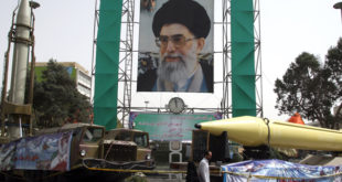 Iran racheta Shabab Ali Khamenei