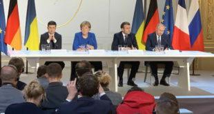intalnire Putin Merkel Macron Zelenski Ucraina
